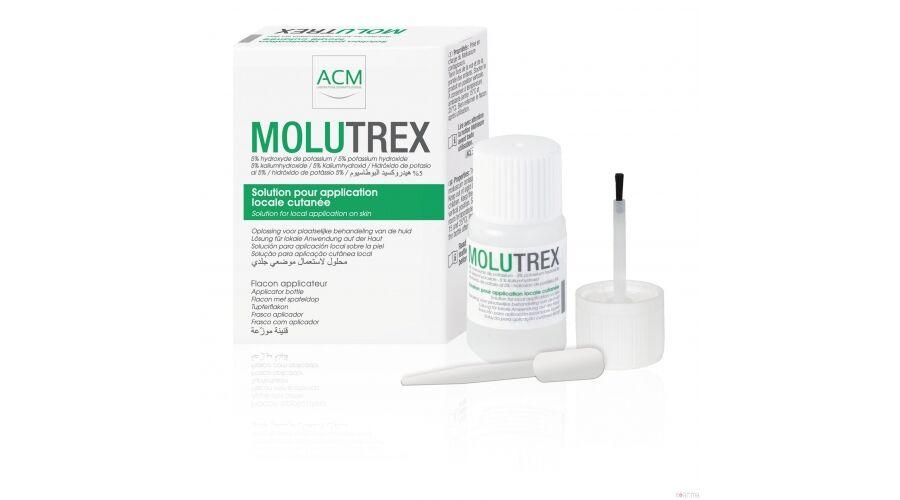 ACM Molutrex szemölcs elleni ecsetelő 3ml exp.:03/20