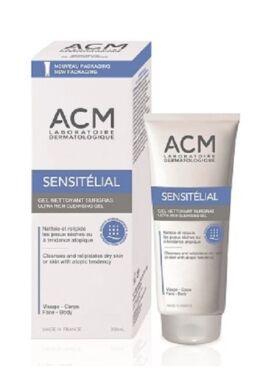 ACM Sensitélial ultra gazdag, szappanmentes, mosakodó gél, száraz-érzékeny bőrre 200ml