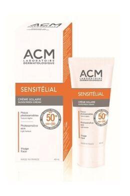 ACM Sensitelial fényvédő krém SPF 50+ 40ml