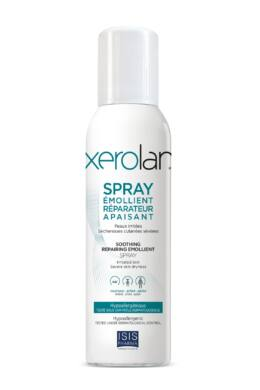 Isispharma Xerolan bőrápoló spray, ultra tisztaságú lanolin, gyulladt ekcémás bőrre150ml
