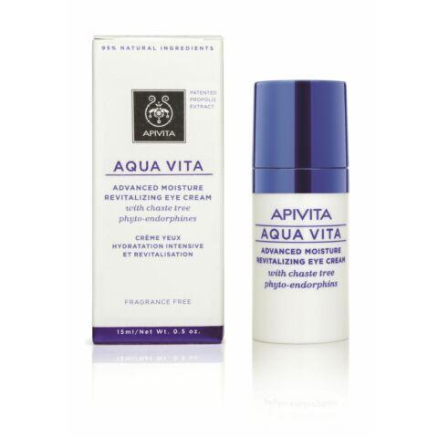 APIVITA AQUA VITA Hidratáló szemkörnyékápoló krém 15 ml