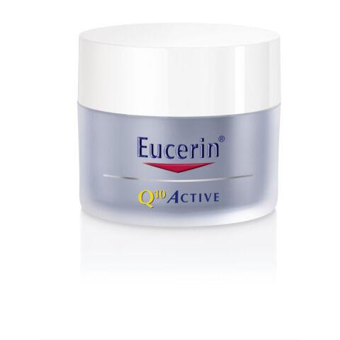 Eucerin Q10 ACTIVE Ránctalanító éjszakai arckrém 50 ml