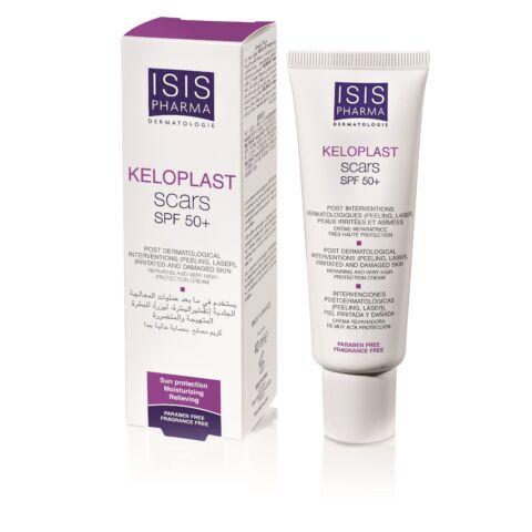Isis Pharma Keloplast Scars SPF50+ hámosodást segítő krém 40ml