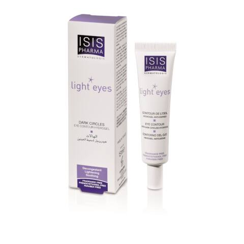 Isis Pharma Light Eyes ápoló hidrogél szemre 15ml