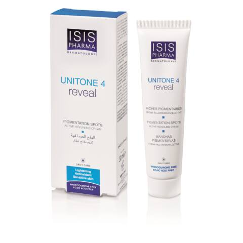 Isis Pharma Unitone 4 REVEAL Aktív depigmentáló nappali krém 30ml