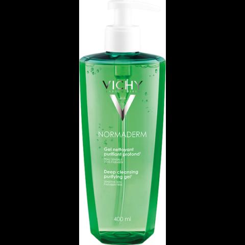 Vichy Normaderm intenzív tisztító gél problémás bőrre 400 ml