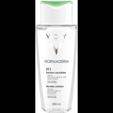 Vichy Normaderm 3 in 1 micellás arclemosó problémás bőrre 200 ml