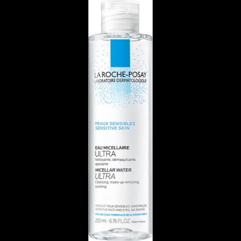 La Roche-Posay Ultra micellás arctisztító érzékeny bőrre 200 ml