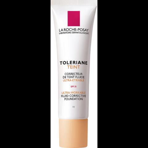 La Roche-Posay Toleriane Teint SPF 25 Light Beige 11 korrekciós alapozó fluid  30 ml