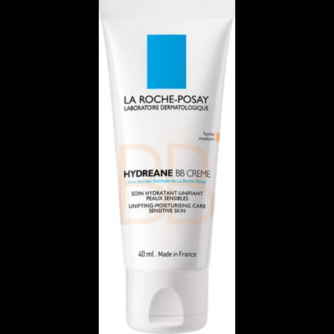 La Roche-Posay Hydreane BB krém SPF 20 Medium  bőrtökéletesítő hatással érzékeny bőrre 40 ml
