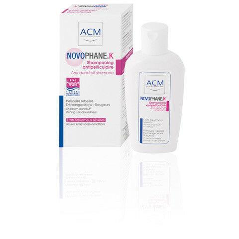 ACM Novophane K korpásodás elleni sampon 125mlexp.: 04/21