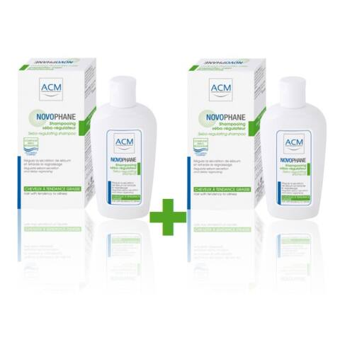 ACM Novophane zsírosodást gátló sampon DUO PACK (200ml+200ml)