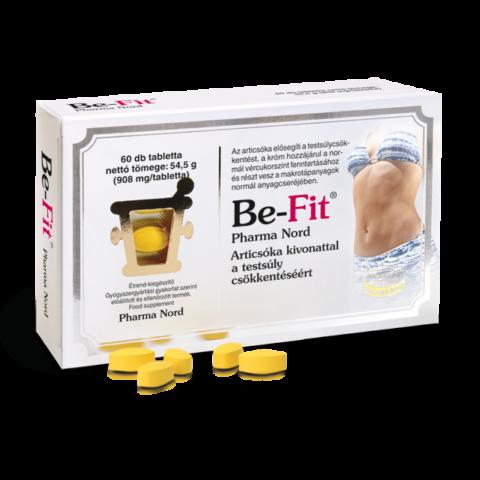 Pharma Nord Be-Fit étrend-kiegészítő tabletta 60X