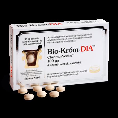 Pharma Nord Bio-Króm DIA tabletta 30X