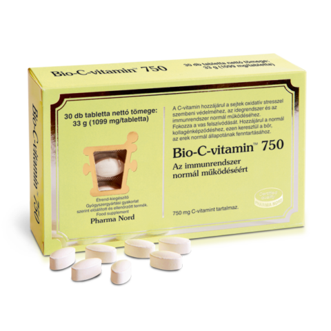 Pharma Nord Bio-C-vitamin 750 mg tabletta 30X