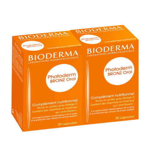 Bioderma Photoderm Oral kapszula 2x30db DUO PACK