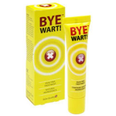 Bye WART! szemölcsirtó krém 15ml