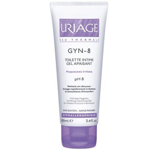 Uriage GYN-8 nyugtató intim mosakodó gél pH8 100ml