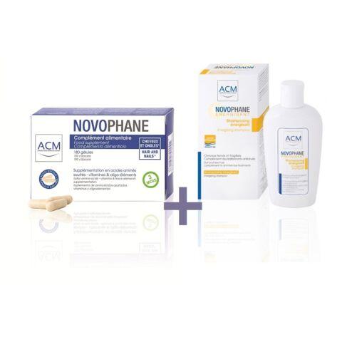 ACM Novophane kapszula hajra és körömre 180db + AJÁNDÉK Novophane Energetizáló sampon 200ml