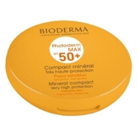 Bioderma Photoderm Max Kompakt púder Golden (közép tónus) SPF50+/UVA24 10g