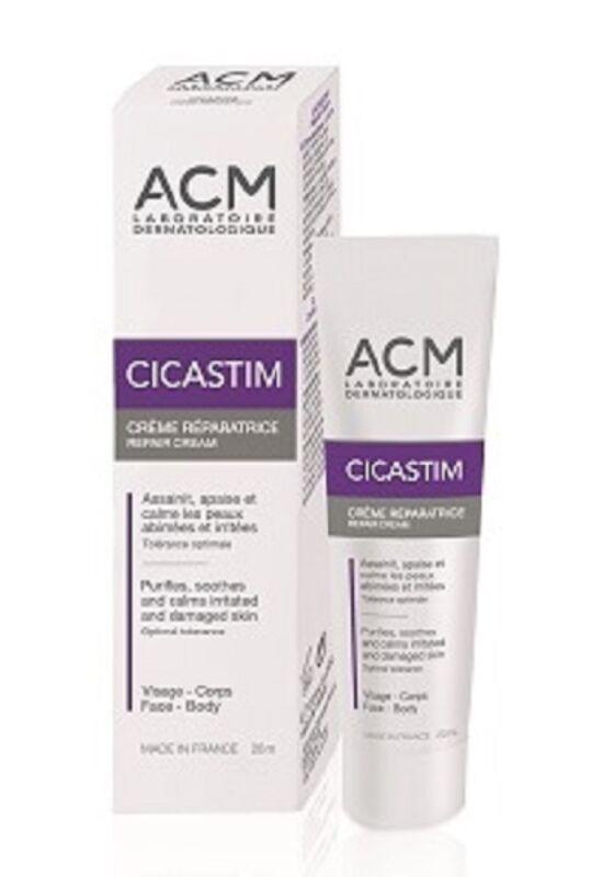ACM Cicastim nyugtató bőrregeneráló krém 20ml exp.: 04/21