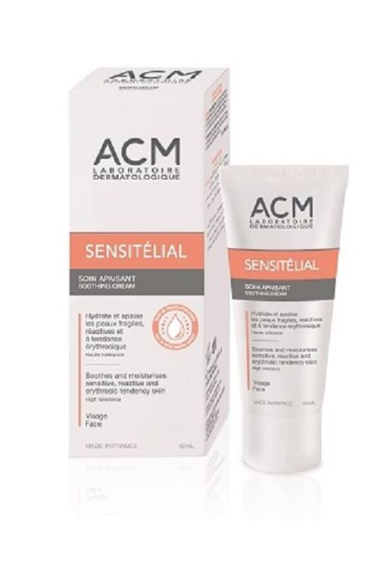 ACM Sensitélial nyugtató és hidratáló arckrém érzékeny bőrre 40ml exp.: 02/22