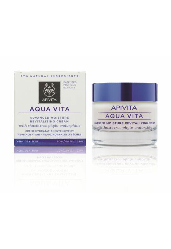 APIVITA AQUA VITA Hidratáló arckrém nagyon száraz bőrre 50 ml