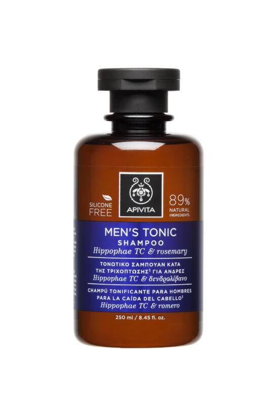 APIVITA Sampon hajhullás ellen férfiaknak - MEN'S TONIC 250 ml
