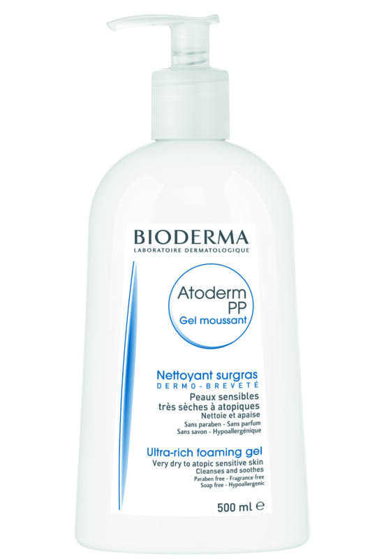 Bioderma Atoderm Intenzív Moussant 500ml (Atoderm PP Moussant gél 500ml)