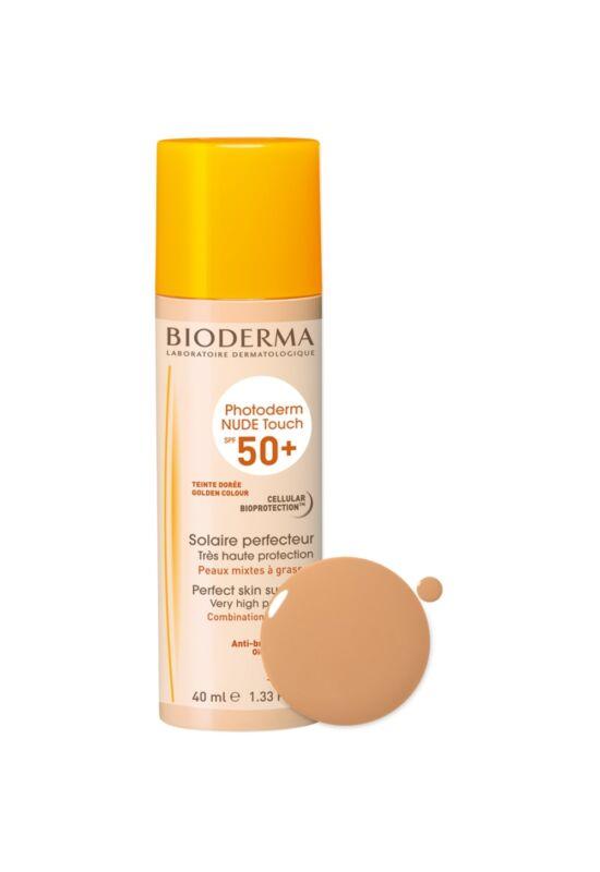 Bioderma Photoderm Nude Touch Sötét SPF50+ 40ml