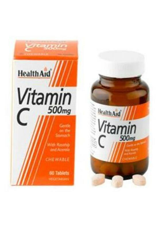 HealthAid C-VITAMIN 500 MG  60 db