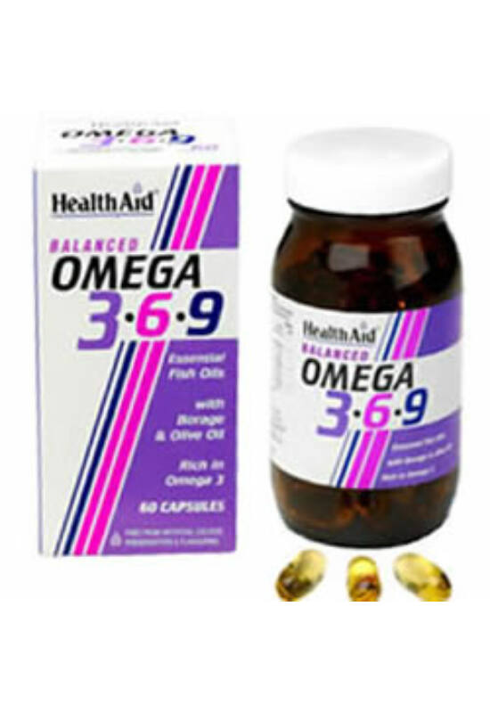 HealthAid OMEGA 3-6-9 kapszula 60 db