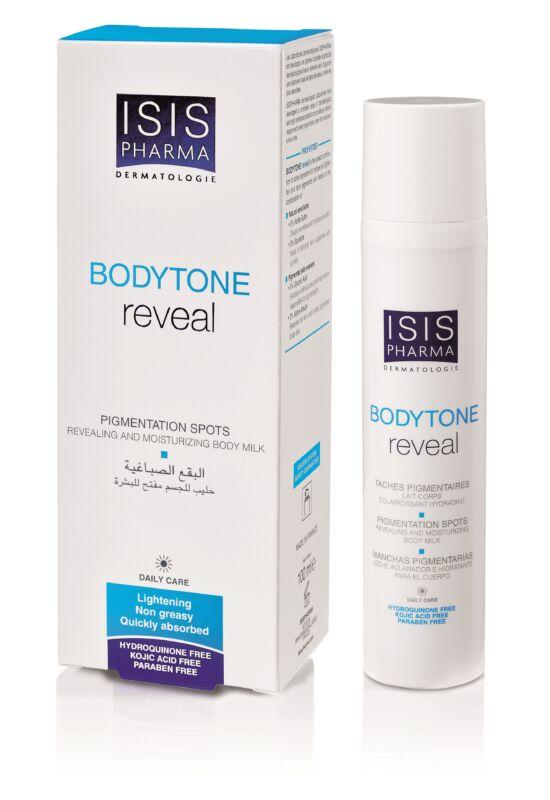 Isispharma Bodytone Reveal bőrhalványító testápoló krém pigmentfoltos bőrre100ml