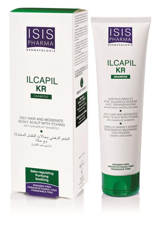 Isispharma Ilcapil KR sampon, erőssen korpás hajra150ml