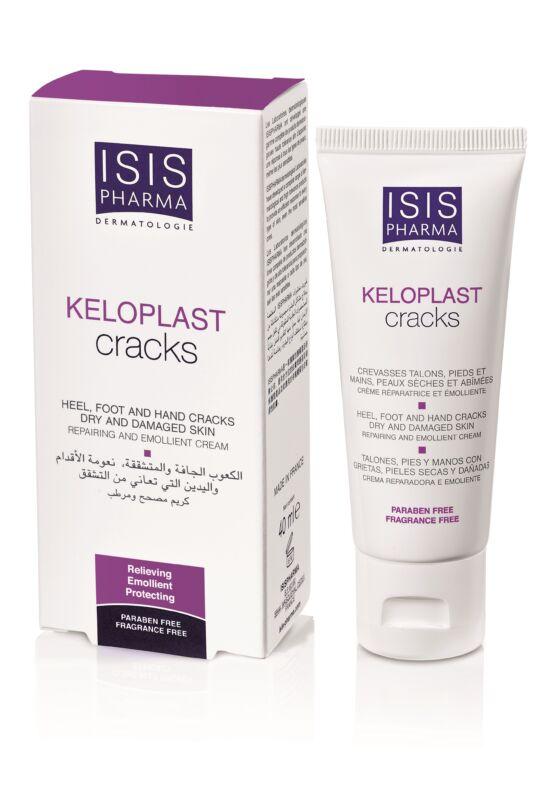 Isispharma Keloplast Cracks ápoló krém súlyosan berepedezett bőrre 40ml exp.: 06/22