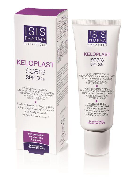 Isispharma Keloplast Scars SPF50+ hámosodást segítő krém 40ml exp.: 01/22