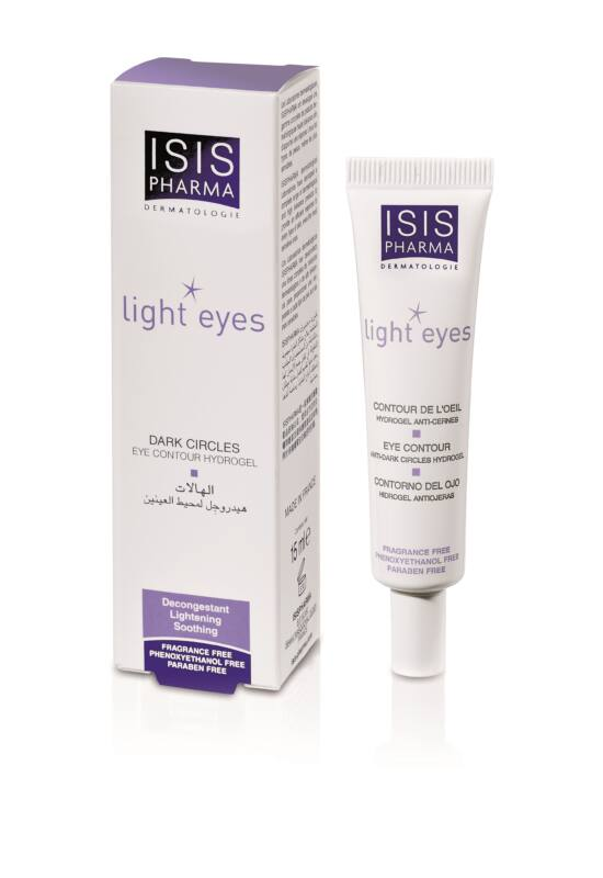 Isis Pharma Light Eyes ápoló hidrogél szemre 15ml exp.: 12/22