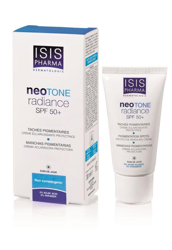 Isispharma Neotone Radiance Pigmentfoltok kialakulását megelőző nappali krém SPF50+ 30ml