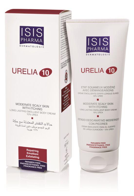 Isispharma Urelia 10 testápoló krém, száraz, nagyo-száraz bőrre, 10% Urea tartalommal 150ml