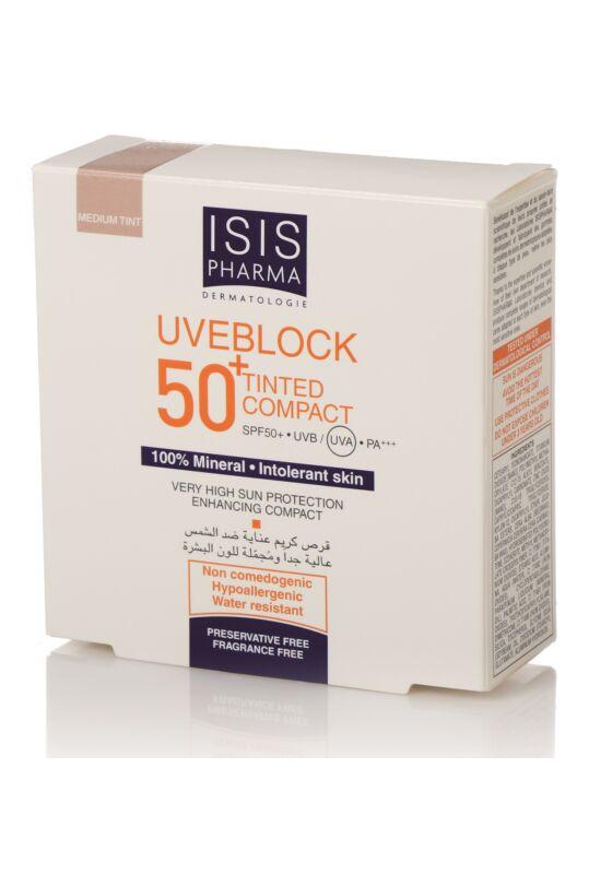 Isispharma Uveblock SPF50+ Kompakt púder világos árnyalat 10g