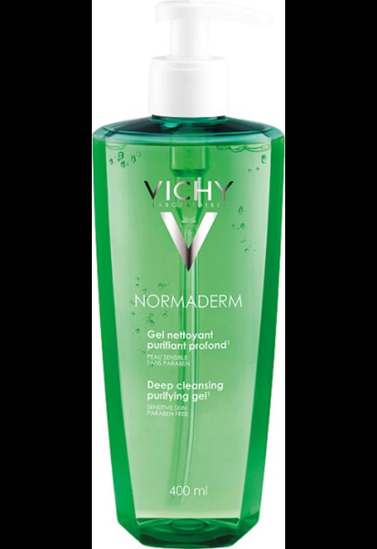 Vichy Normaderm mélytisztító gél problémás bőrre 200 ml