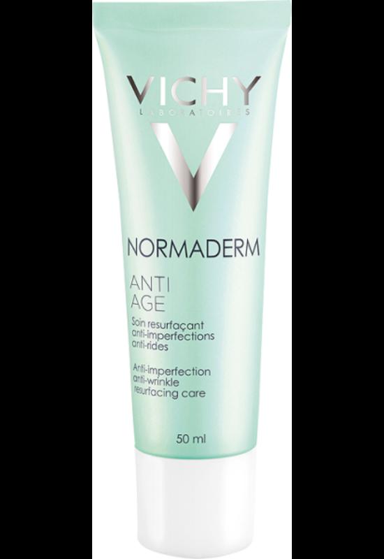 Vichy Normaderm Anti-Aging arckrém bőrhibák és ráncok ellen 50 ml