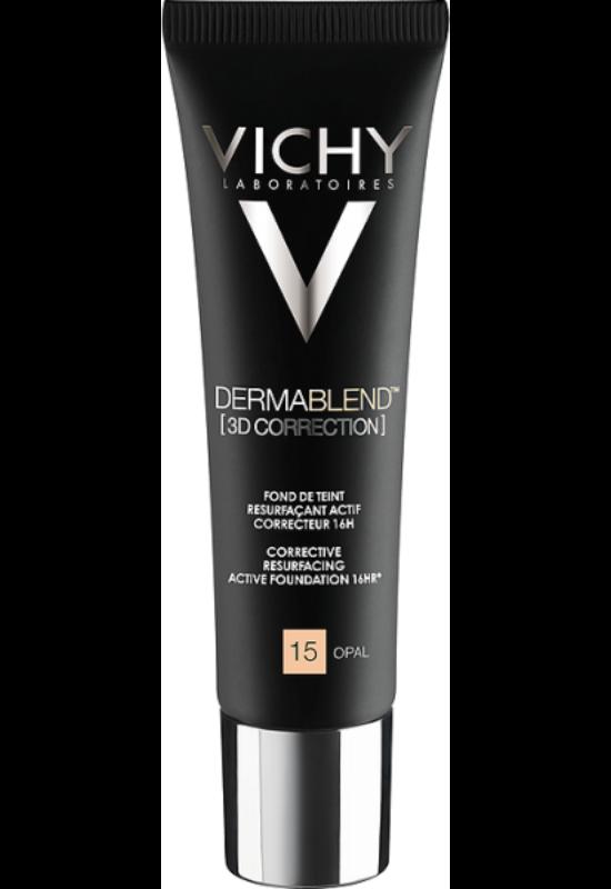 Vichy Dermablend 3D Korrekció 15 Opal alapozó bőrfelszín kisimító hatással 30 ml