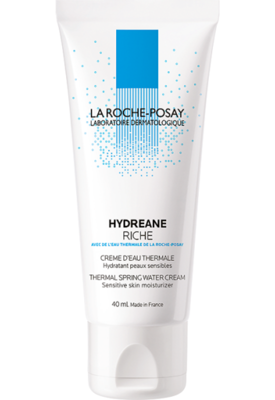 La Roche-Posay Hydreane Riche termálvíz alapú hidratáló arckrém érzékeny bőrre 40 ml