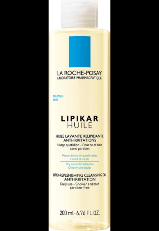 La Roche-Posay Lipikar lipidpótló olaj irritáció ellen fürdéshez és zuhanyzáshoz 200 ml