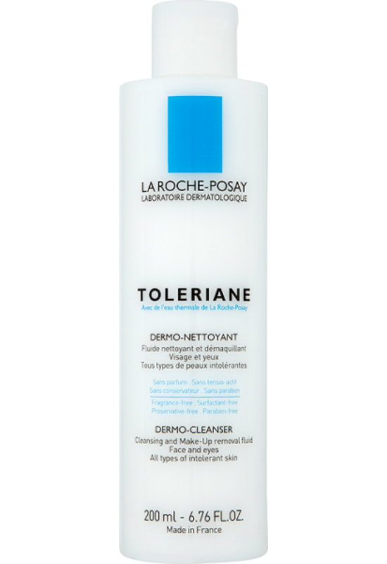 La Roche-Posay Toleriane arctisztító tej termálvízzel minden típusú, nagyon érzékeny bőrre 200 ml