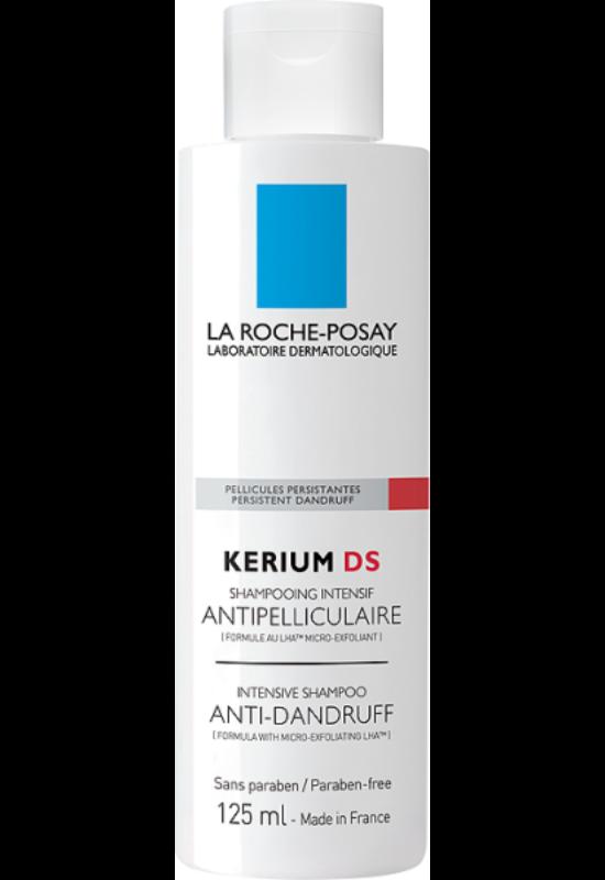 La Roche-Posay Kerium DS intenzív sampon kúra korpásodás ellen erősen korpásodó fejbőrre 125 ml
