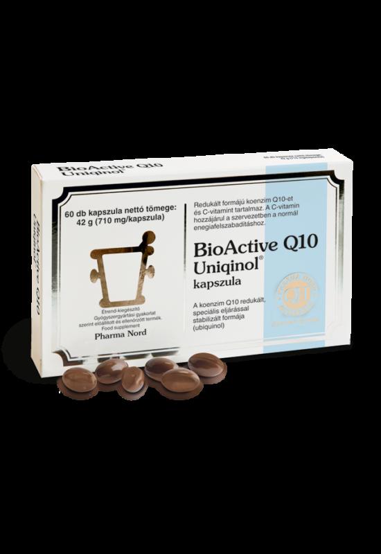 Pharma Nord Bio-Active Q10 Uniqinol kapszula 60X