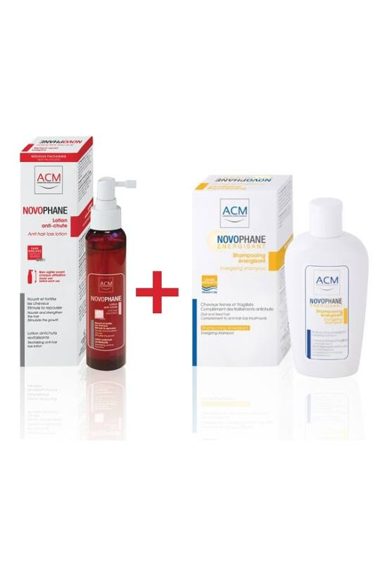 ACM Novophane hajhullás elleni spray 100ml + AJÁNDÉK Energetizáló sampon 200m