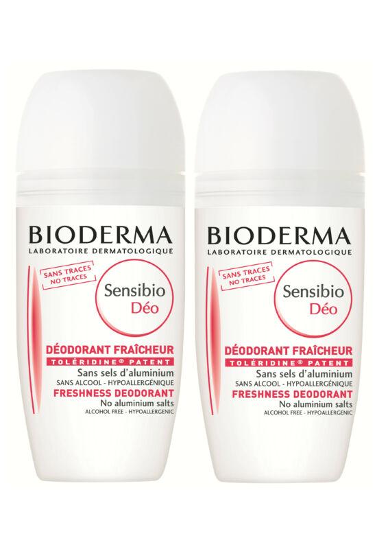 Bioderma Sensibio Dezodor alumínium mentes roll on 1+1 DUO PACK 50ml+50ml